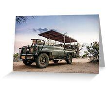 Safari Land Cruiser Greeting Card