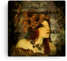 If only clockwork could speak Canvas Print