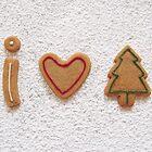 I love Christmas by Sally Kate Yeoman