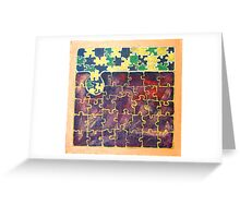PUZZLE PIECE #15 Greeting Card