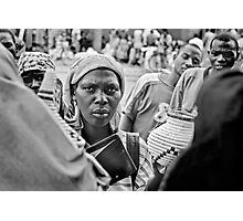 'The transaction' Northern Rwanda Photographic Print