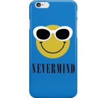 Nevermind grunge smiley. iPhone Case/Skin