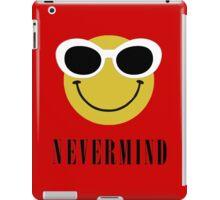 Nevermind grunge smiley. iPad Case/Skin