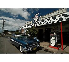 Classic Car, Moo Moo Cafe, Mooball, Australia 2008 Photographic Print