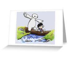 Hiro and Baymax Greeting Card