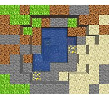 Pixel Mining Play Area 5 Photographic Print