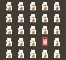 Maneki Neko Pattern by grischa808