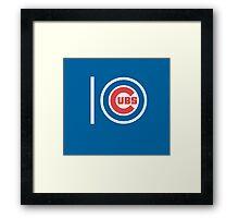 10 Cubs. PJ. Framed Print