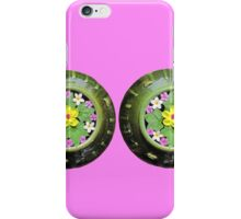 A Pair of Beautiful Flower Pots iPhone Case/Skin