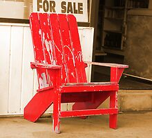 Red Chair by Ed Herr