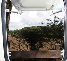 Caravan window by shakey