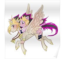 My little pony Yu-Gi-Oh! Poster