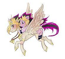 My little pony Yu-Gi-Oh! Photographic Print