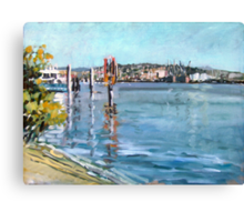 Brisbane River 1 Canvas Print