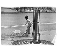Collector, On the Way to M.Cartier Bresson Paris 1975 21 (b&n)(t) by Olao-Olavia par Okaio Création Poster