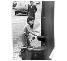 Collector, On the Way to M.Cartier Bresson Paris 1975 22 (b&n)(t) by Olao-Olavia par Okaio Création Poster