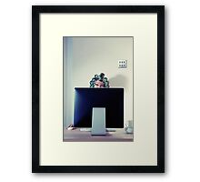 Bed Head (Remember me part 2) Framed Print
