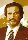Legendary Anchorman Ron Burgundy by anticus50