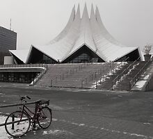 Bicycle by the Tempodrom by Rodderrick Sota