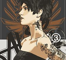 Girl with Tattoos 02 by 3dleigh