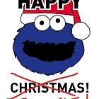 Cookie Monster Xmas Card by mjfouldes