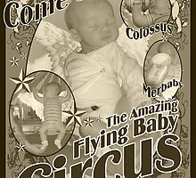 The Amazing Flying Baby Circus by margodalia