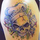 Chef skull by margodalia