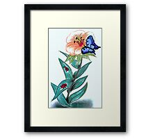 Just a drawing... Framed Print