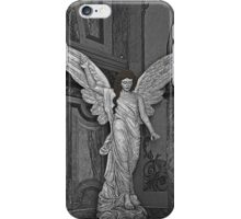 Angel Of Santo Domingo Church In Cuenca iPhone Case/Skin