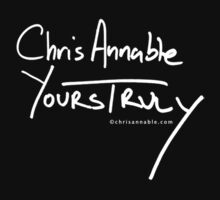 Yours Truly Black by Chris Annable