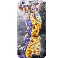 Kobe Bryant - BLACK MAMBA 24 iPhone Case/Skin