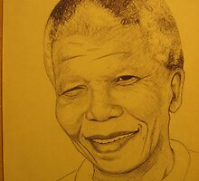 Mr Madiba 'the icon' by Samuel Friday