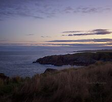 Sunset on Cruden Bay - North East coast of Aberdeenshire, Scotland by Yannik Hay
