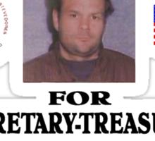 One Vote Sticker