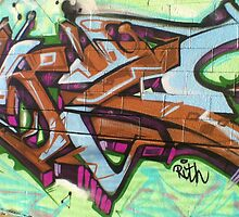 Brown Winter Wildstyle by Maestro Hazer
