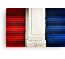 Red, White and Blue I Canvas Print