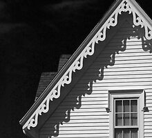 Gingerbread Shadows in Black and White by BrookeRyanPhoto