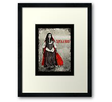 Once Upon the Woods... Framed Print