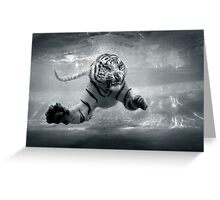 Underwater Danger Greeting Card
