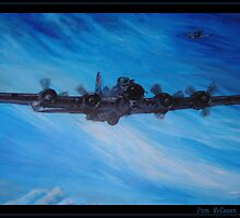 B-17 Bomber by crackgerbal