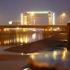 Night on River Hull  by Wrigglefish