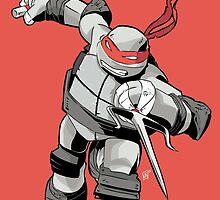 TMNT - Raphael by averagejoeart