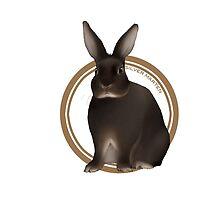 Silver Marten Rabbit (plain) by liarakcrane