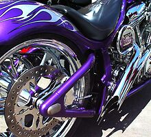 Purple Chopper by Barbara Gordon