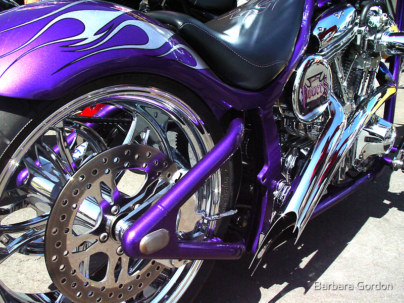 Purple Chopper by Barbara Gordon