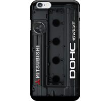 4g63 MITSUBISHI Valve Cover - iPHONE - BLACK iPhone Case/Skin