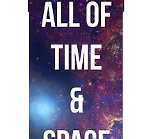 "Doctor Who TARDIS - ""All of time and space"" by Warac"
