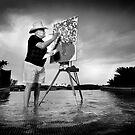 Tony Curtis by Jeff Rayner