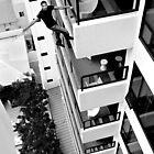 David Blaine on the Mondreon Hotel by Jeff Rayner