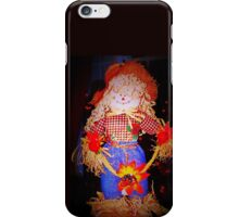 Scarecrow maiden iPhone Case/Skin